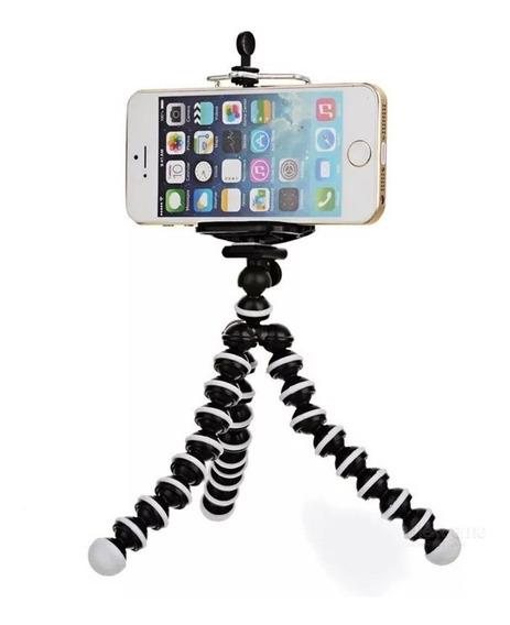Mini Tripode Flexible Octopus Smartphone Camaras Geobyte