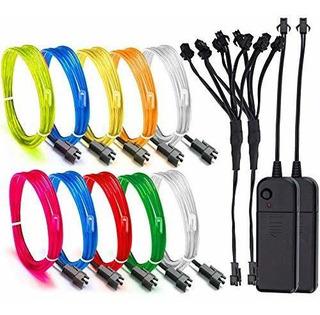 El Wire, Escolite El Wire Kit Paquete De Batería De Luces De