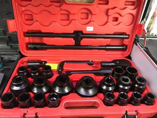 Juego De Dados 26 Piezas C/caja 21 A 65mm Lh-522