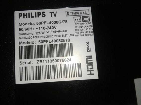 Flets,sensor,teclado,autofalantes Philips 50pfl4008g