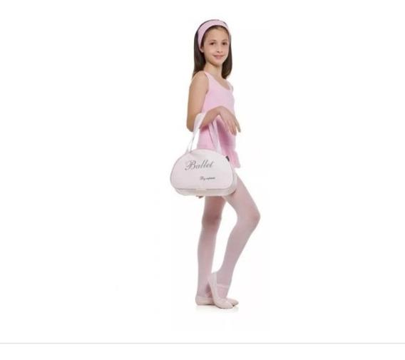Kit 6 Peças Ballet Capezio Infantil - Tam 2 Ao 12 + Bolsa