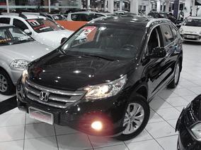 Honda Cr-v 2.0 Exl 4x4 Aut. 2012 Completo Top De Linha