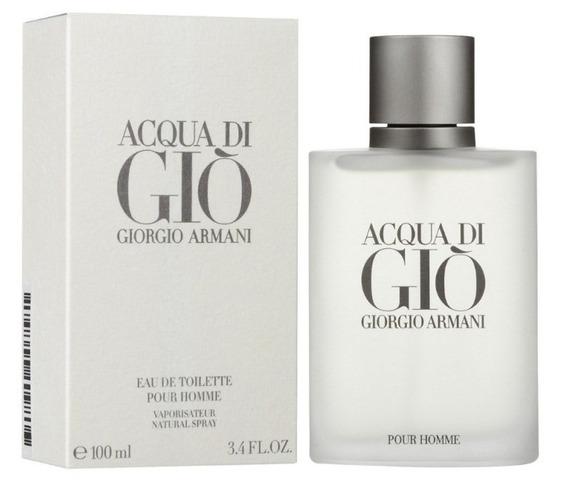 Perfume Acqua Di Gio Giorgio Armani Masculino 100ml 12x Fte
