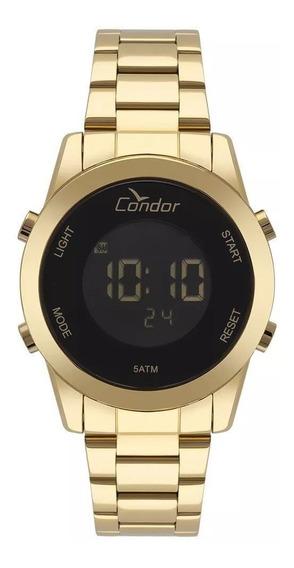 Relógio Condor Fem. Digital Gold Cronográfo Cobj3279aa/4p