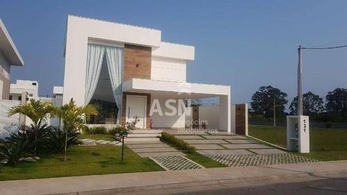 Imagem 1 de 26 de Casa Com 4 Dormitórios À Venda, 270 M² Por R$ 1.500.000,00 - Viverde - Rio Das Ostras/rj - Ca0583