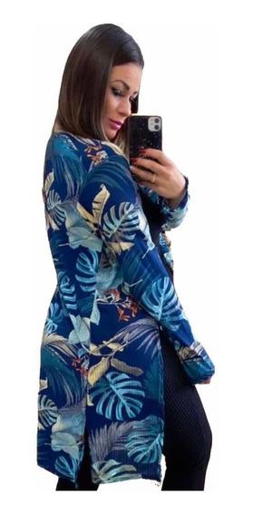 Cardigan ,kimono Estampado ,kit De 10 Peças Estampa Variadas
