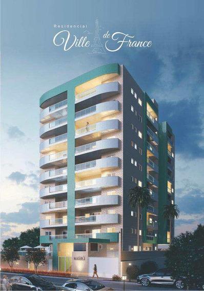 Belíssimo Apartamento No Centro Da Cidade, Frente Mar - V1073