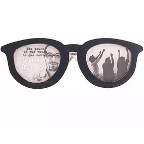 Porta Retrato Óculos Nosso Universo Para 2 Fotos