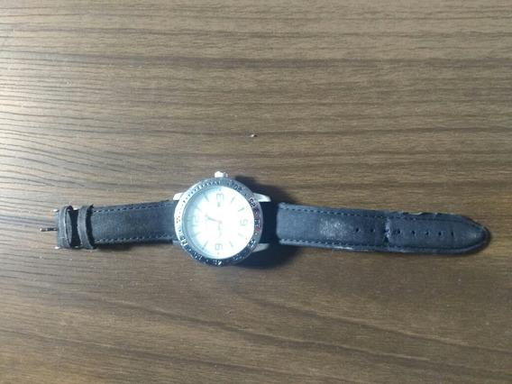 Relógio Mondaine Pulseira De Couro Original Bem Conservado.