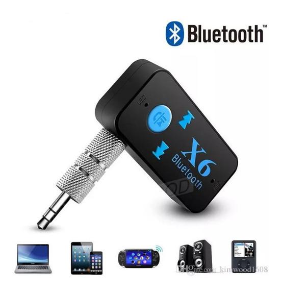 Receptor Audio Bluetooth Auxiliar Audio Para Equipos Sonido