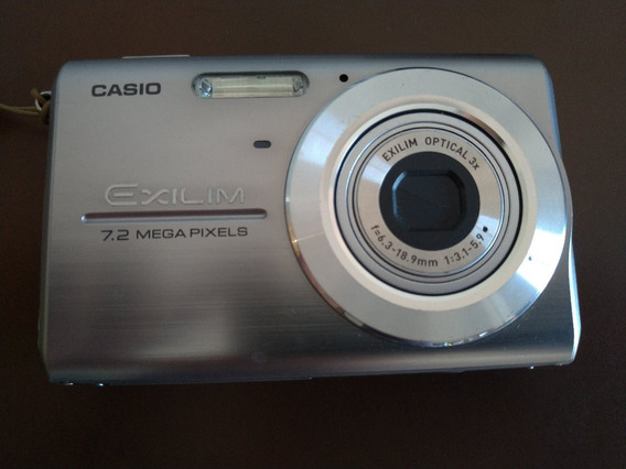 Câmera Digital Casio Exilim Ex-z75 7.2mp