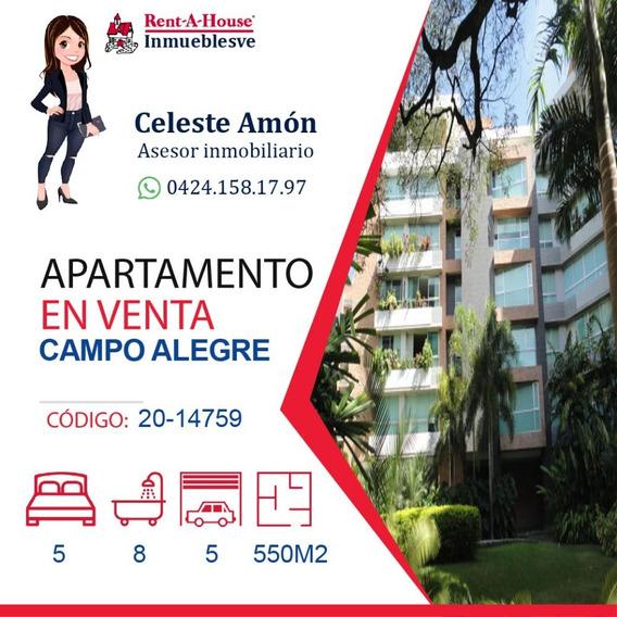Apartamento Venta Campo Alegre 0424.158.17.97 Ca Mls20-14759