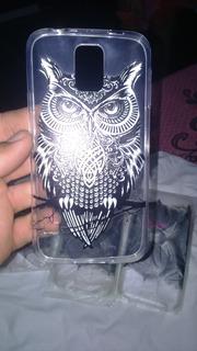 Capa Case Galaxy S5 Coruja Deluxe
