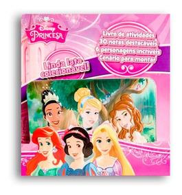 Livro Disney Latinha Pop-up - Princesas Disney