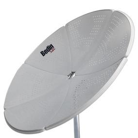 Antena Digital Parabólica Para Tv Banda C.ku Bedin Sat 1.50m