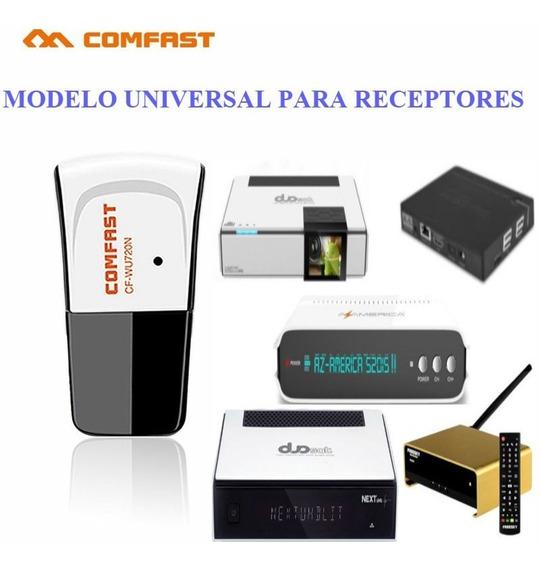 Adaptador Comfast Wi-fi Wireless Ralink 5370 P/ Receptores