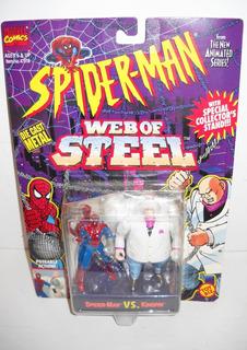 Toy Biz Spiderman Vs Kingpin Die Cast Marvel Comics1994