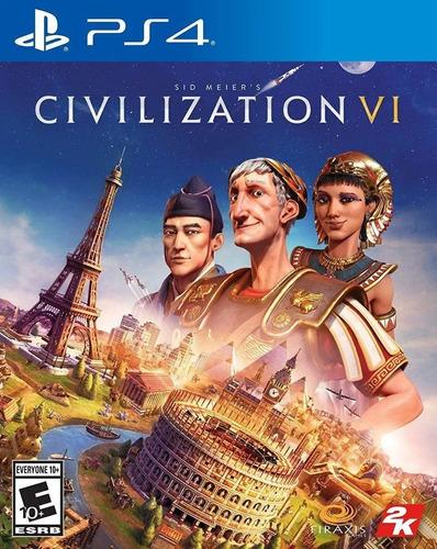 Imagen 1 de 9 de Civilization Vi 6 Sid Meiers Ps4 Juego Fisico Sellado Nuevo