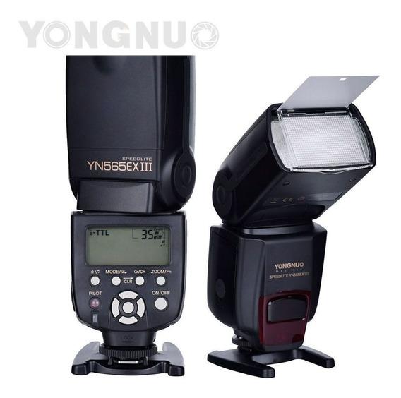 Flash Fotográfico Yongnuo Original Yn-565 Ex Iii Ttl 565exiii Para Nikon
