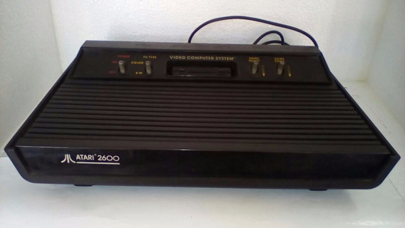 Video Game Atari 2600 Seminovo Controle E Fonte