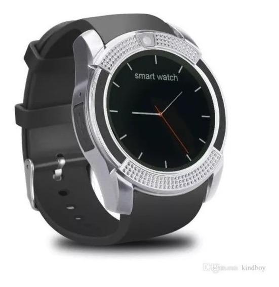 Reloj Celular Smart Watch Sim Sd V8 Camara Redondo 360