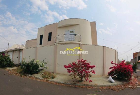 Casa Com 4 Dormitórios À Venda, 300 M² Por R$ 900.000,00 - Jardim Vaughan - Sumaré/sp - Ca2329