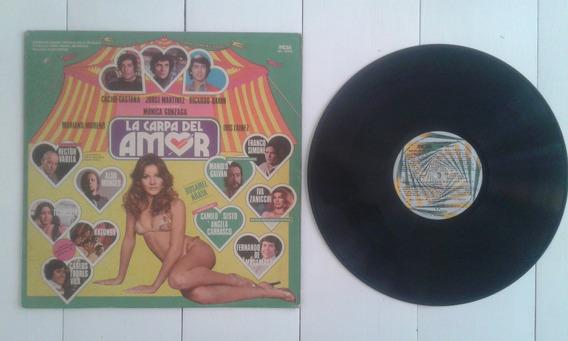 Disco Banda De Sonido Orig. Lacarpa Del Amor Darin Castaña