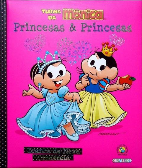 Branca De Neve - Cinderela - Col. Princesas E Princesas
