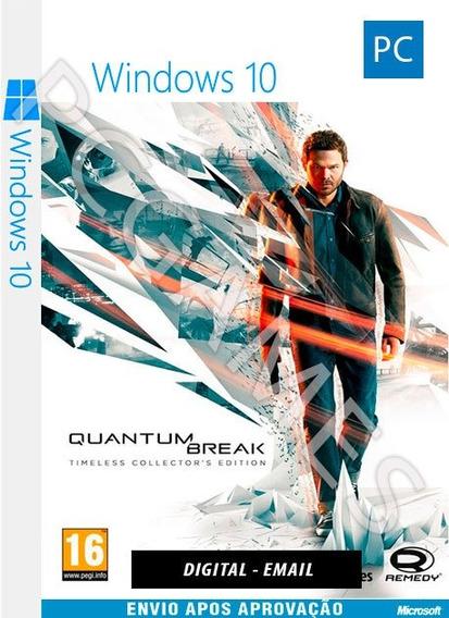 Quantum Break - Pc Windows 10 - Online