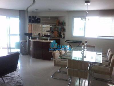 Apartamento Com 03 Suítes À Venda, 199 M² Por R$ 1.500.000 - Ponta Da Praia - Santos/sp - Ap0295