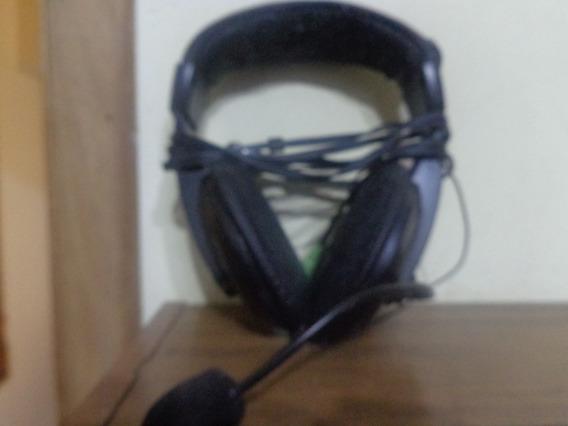 Headphone Leadership Goldship Com Fone Preto