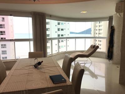 Locação Anual Apartamento 2 Suites, Mobiliado, 2 Vaga De Garagem - Av. Brasil, Em Balneário Camboriú/sc - R$4.000,00 - Ap0607