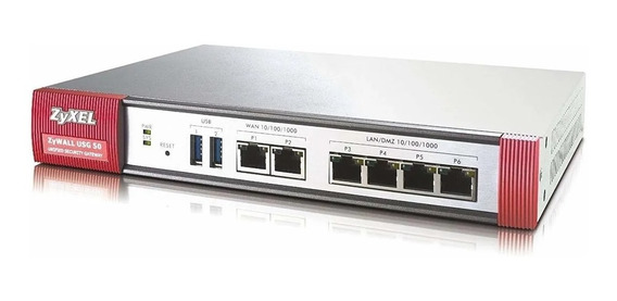 Router Zyxel Usg 50 Unified Seguridad Gateway