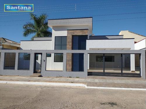 Casa Com 3 Dormitórios À Venda, 300 M² Por R$ 800.000,00 - Bandeirantes - Caldas Novas/go - Ca0201