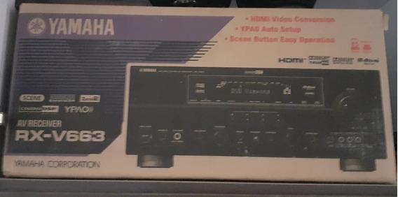 Home Theater Profesional Marca Yamaha, modelo Rx-v663.