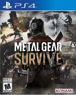 Metal Gear Survive Ps4 Digital Gcp