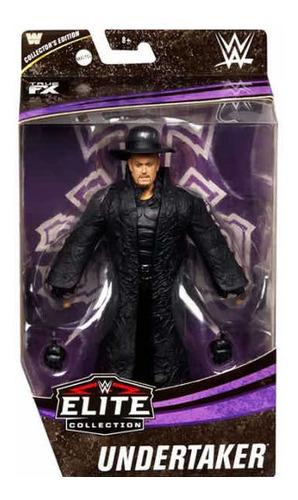 Imagen 1 de 5 de Exclusiva Figura De Undertaker Elite Collection De Lujo!!