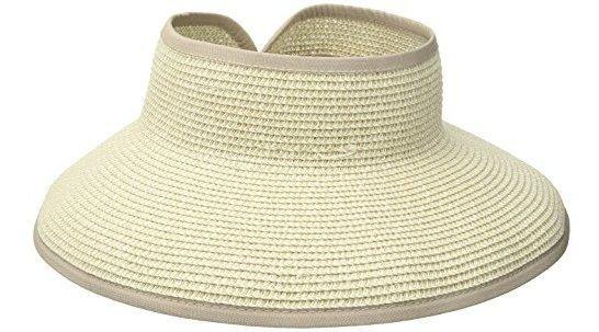 Sombrero De San Diego Visor De La Compaã±ãa Con Lista Y