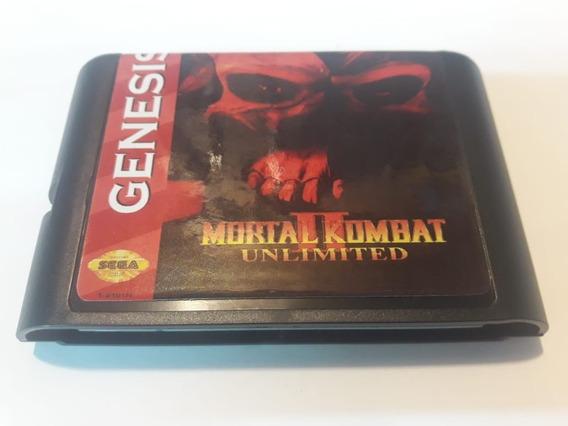 Mortal Kombat Unlimited Mega Drive Sega Novo Paralelo