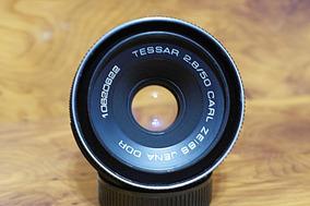 Carl Zeiss Tessar 50mm 2.8 - M42 Canon Nikon Pentax