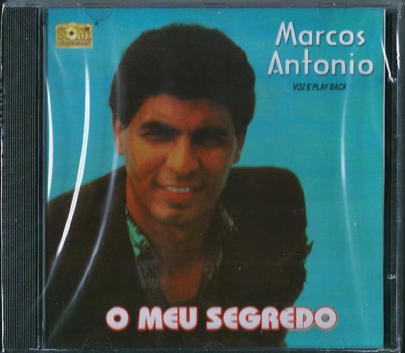 Cd Marcos Antônio O Meu Segredo Bônus Pb .biblos