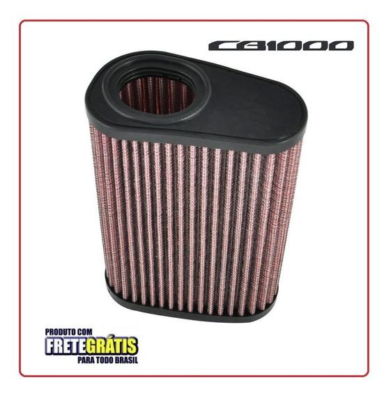 Filtro De Ar Esportivo Para Honda Cb1000 Cb1000r - Lavável