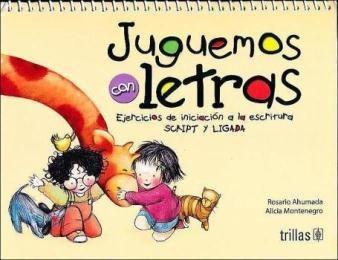 Imagen 1 de 2 de Juguemos Con Letras.: Ejercicios De Iniciacion A La Escritur