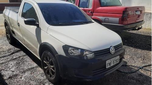 Imagem 1 de 10 de Volkswagen Saveiro 2014 1.6 Cab. Simples Total Flex 2p