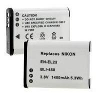 Imagen 1 de 1 de Batería - Enel23  P/nikon  (5332)