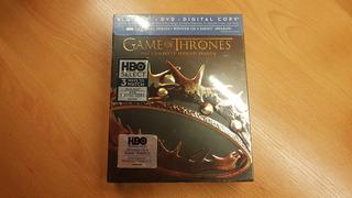 Game Of Thrones Temporada 2 (blu-ray) (nuevo Sellado)