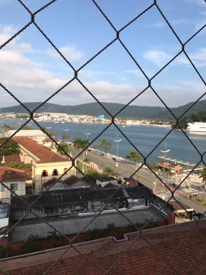 Apartamento Em Ponta Da Praia, Santos/sp De 55m² 1 Quartos À Venda Por R$ 339.000,00 - Ap259334
