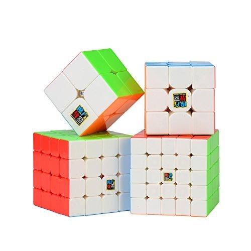 Speed ??cube Set, Roxenda Magic Cube Conjunto De 2x2x2 3x3x3