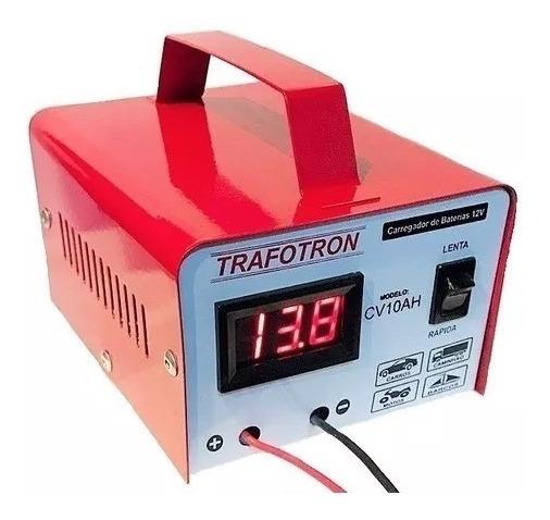 Carregador Para Bateria 12v Até 300a Carga Lenta E Rapida