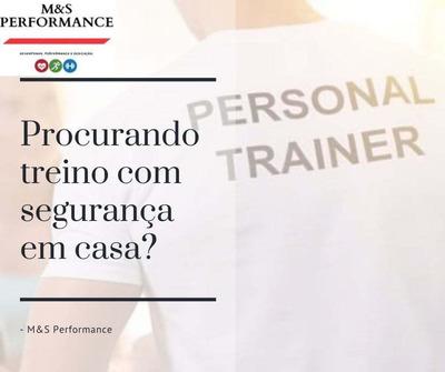 Aulas De Personal Trainer Em Casa (home Trainer)